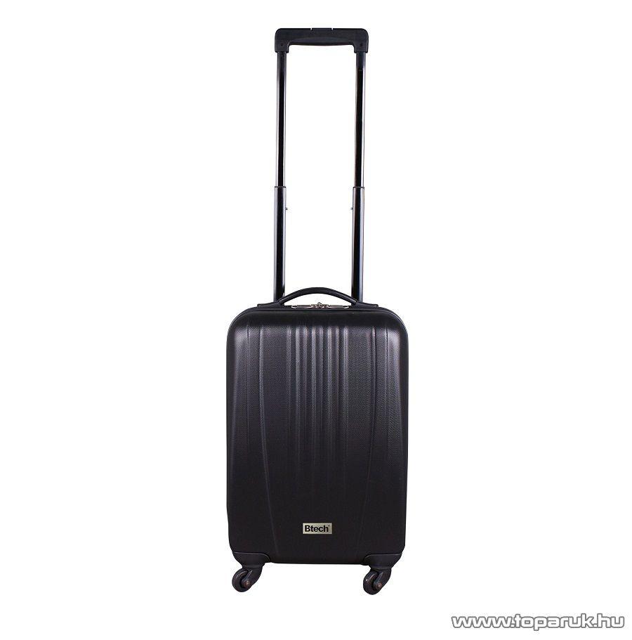 "Btech 4 kerekes kabinbőrönd 18""-os, fekete (8101023)"