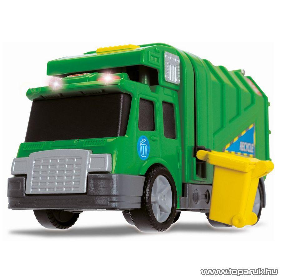 Dickie City Cleaner zöld kukásautó (203413572)