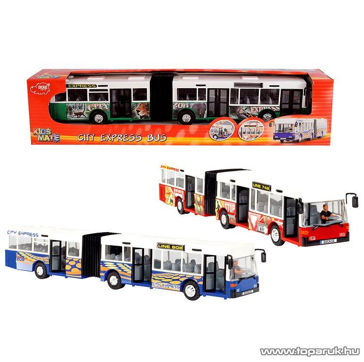 Dickie City Express csuklós busz, 3 féle szín (203314825)