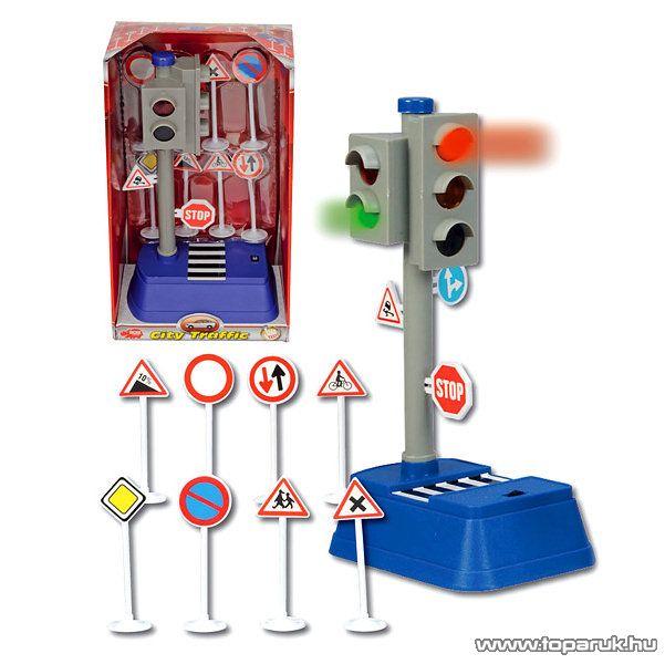 Dickie City Traffic lözlekedési lámpa szett (203313051)
