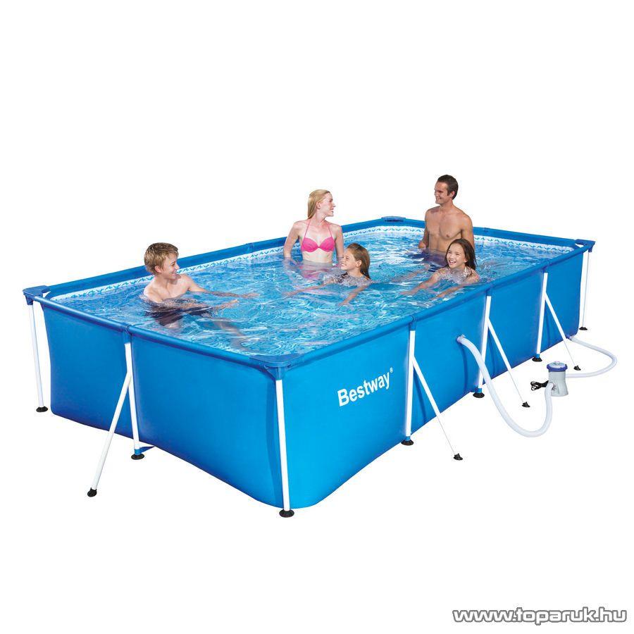 Bestway f mv zas medence rg p for Decathlon piscine tubulaire