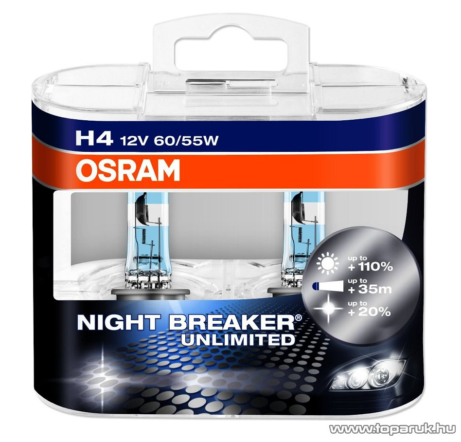 h4 izzo osram night breaker unlimited rg p. Black Bedroom Furniture Sets. Home Design Ideas