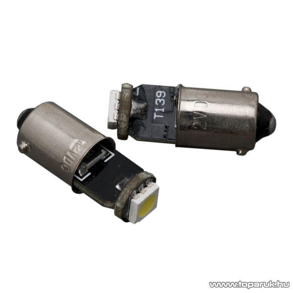 Carguard 1 SMD LED-es izzó helyzetjelző, BA9s foglalat, 2W, DC12V, CAN-BUS, 2 db / csomag (51013)