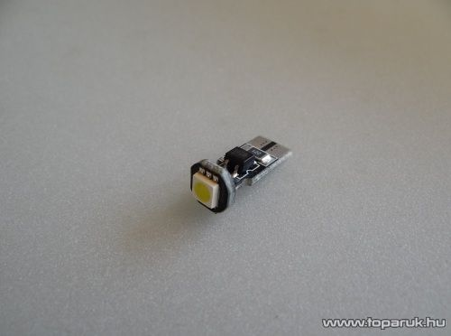 1 HighPower LED, 180 fok látószög, CAN-BUS, W5W foglalat (LD13-W5W)