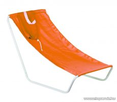 Szétszedhető hordozható csővázas strandszék válltáskában, narancs