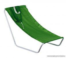 Szétszedhető hordozható csővázas strandszék válltáskában, zöld