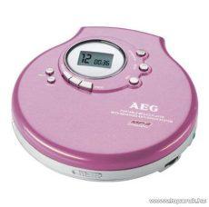 AEG CDP 4212 Hordozható CD lejátszó, MP3 Discman, rózsaszín - készlethiány