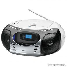 AEG SR4356 Hordozható bluetooth-os USB/CD/MP3 lejátszó - készlethiány