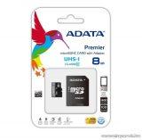 Adata AUSDH8GUICL10-RA1 Micro SDHC memóriakártya, 8GB