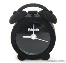 Btech BA-01 Mini szilikon ébresztő óra, fekete