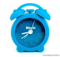 Btech BA-03 Mini szilikon ébresztő óra, kék