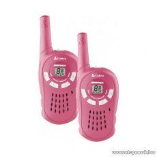 Cobra MT-117 PMR rádió adóvevő, 5 km-es walkie-talkie, rózsaszín - megszűnt termék: 2015. augusztus
