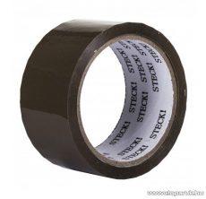 Steck STR 50B Csomagolószalag, ragasztószalag, barna, 6 db / csomag (44000008)