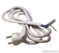 Steck SHFF 3105 H05VV-F 3x0,1 Flexo kábel, fehér, 5 m (11150016)