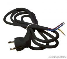 Steck SHF 3103 H05VV-F 3x1,0 Flexo kábel, fekete, 3 m (11150003)