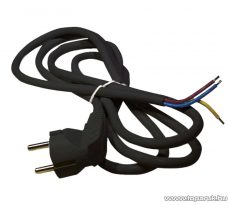 Steck SHF 3105 H05VV-F 3x1,0 Flexo kábel, fekete, 5 m (11150004)