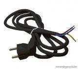 Steck SHF 3155 H05VV-F 3x1,5 Flexo kábel, fekete, 5 m (11150006)