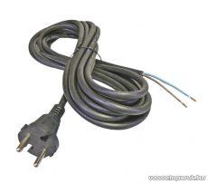 Steck SHL 2153 H05RR-F 2x1,5 Flexo gumi kábel, fekete, 3 m (11150009)