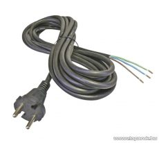 Steck SHL 3105 H05RR-F 3x1,0 Flexo gumi kábel, fekete, 5 m (11150012)