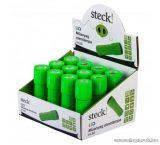 Steck STA 9G Műanyag 9 LED-es elemlámpa, zöld (33000013)