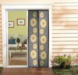 Steck SRM 100N Mosható szúnyogháló függöny ajtóra, mágnessel záródó, 100 x 210 cm (mágneses szúnyogháló), NAPRAFORGÓS mintával