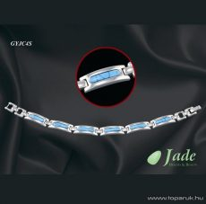 Jade GYJC4S Classic 4 Orvosi acél, mágneses karkötő, többféle méret - Megszűnt termék: 2015. Szeptember