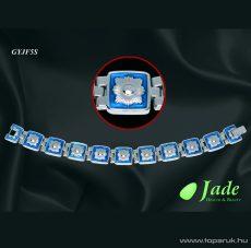 Jade GYJF5S Fashion 5 Orvosi acél, mágneses karkötő, többféle méret - Megszűnt termék: 2017. Március