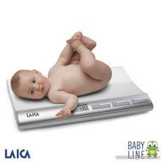 Laica Baby Line Digitális baba mérleg, 20 kg-ig terhelhető (PS3001) - Megszűnt termék: 2015. Október
