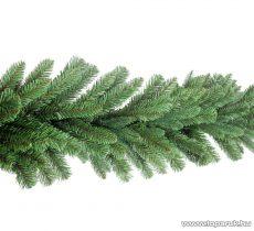 GIRLAND EVERGREEN Zöld színű 2D és 3D ágakból készített extra dús fenyő girland, 270 cm hosszú, 180 ág (KGR 066)
