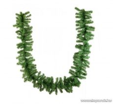 GIRLAND PRIMA zöld fenyő girland, dús, 270 cm hosszú (KGR 001)