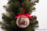 DekorTrend KCG 075 Karácsonyi gömbdísz szett, 75 mm, 14 db / csomag