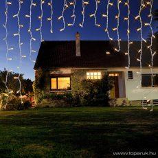 Design Dekor KDB 002 Kültéri LED-es FÉNYÍV FÉNYFÜGGÖNY, 200 x 200 cm, 220 db meleg fehér LED-del
