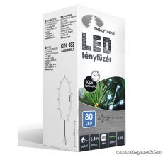 Design Dekor KDL 083 Beltéri LED-es fényfüzér, 80 db kék LED-del