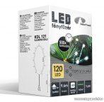 Design Dekor KDL 121 Beltéri LED-es fényfüzér, 120 db melegfehér LED-del