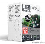 Design Dekor KDL 124 Beltéri LED-es fényfüzér, 120 db piros LED-del