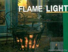 Design Dekor KMN 027 Flame Light Lángnyelvre hasonlító beltéri fényfüzér, 20 égős, melegfehér - készlethiány