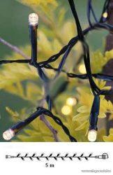 System Decor LED KSA 723 Kültéri toldható LED-es fényfüzér EXTRA, 5 m, melegfehér - megszűnt termék: 2015. február