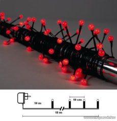 Design Dekor KST 245 Kültéri Party LED-es fényfüzér, 8 m, piros leddel