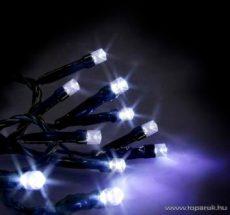 SERIE LED KST 659 Kültéri fényfüzér, 12 m, fekete kábellel, kék - készlethiány