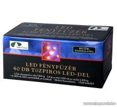 Design Dekor KTC 043 Beltéri LED fényfüzér, 3,9 m, kék - készlethiány