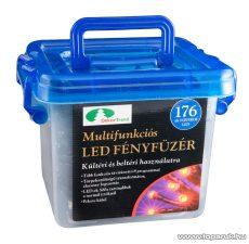 Design Dekor KTC 069 Kültéri LED fényfüzér, 8 funkciós vezérlővel, 8,75 m, piros - készlethiány
