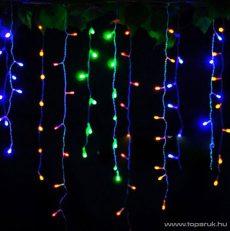 NORTEX KMN 007/C Drape Lite beltéri toldható fényfüggöny, 200 x 130 cm, 144 db színes égővel (KMN 023) - megszűnt termék: 2016. december
