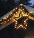 SYSTEM EXPO KSE 192 Kültéri toldható girland világító csillag EXTRA, 55 cm, fehér