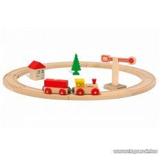 Eichhorn Fa vonatszett, kör alakú, 15 db-os (100001200)