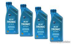 ARAL Blue Tronic 10W40 Ásványolajbázisú szintetikus motorolaj 4 x 1 liter, benzines és diesel autókhoz