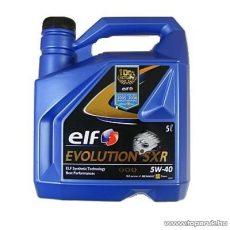 ELF 5W40 Evolution SXR (Excellium LDX) Renault gyári motorolaj 5 liter