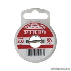 Fahrenheit Forrasztó ón, 3 mm átmérő, 50 g (55139) - készlethiány