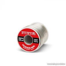 ROSIN FLUX CORED SOLDER Forrasztó ón, 3 mm átmérő, 0,5 kg (55090)