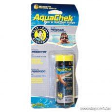 AquaChek Peroxid vízelemző tesztcsík, 25 db tesztcsík / doboz