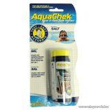 AquaChek Salt sótartalom mérő tesztcsík, 10 db tesztcsík / doboz
